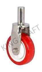 Stainless Steel Pin Type Fabricated Caster