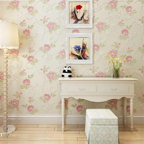 Floral Wallpaper वलपपर Vonzo Wallpaper Kolkata Id