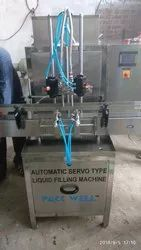Automatic Servo Based Liquid Filling Machine