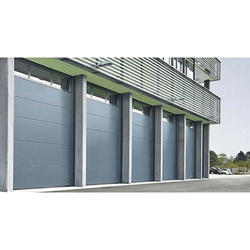 Silver Industrial Sectional Doors