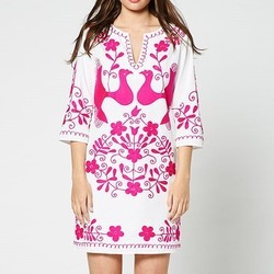 Maxican Cotton Tunic Kaftan