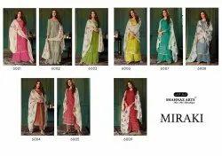 Straight Printed Shahnaz Art Cotton Suit