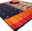 Designer Pure Linen Saree