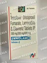 Tenolam E ( Tenofovir, Lamivudine & Efavirenz)