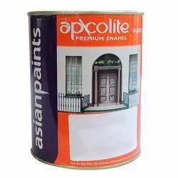 White Glass Asian Paint Apcolite Premium Gloss Enamel, Packaging Type: Bucket
