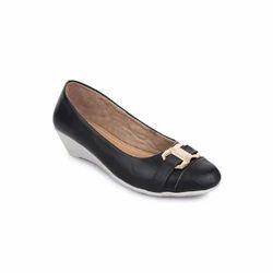 Black Women Designer Ballerina Shoes