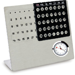Life Time Calendar With Clock
