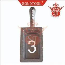 Gold Tool Ingot Mold Casting No. 4 per Kg.