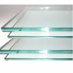 Transparent Flat Toughened Glass, Thickness: 4-19 mm, Size: 101-500 Square Feet
