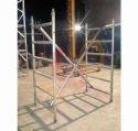 Boiler Cleaning Aluminum Scaffolding