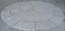 Beige Stone Circle