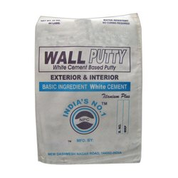 Titanium Plus White Cement Based Wall Putty, Packaging Type: Plastic Bag