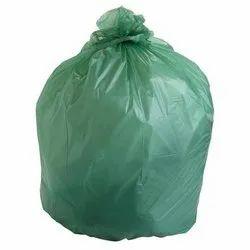 Green Compostable HDPE Garbage Bag