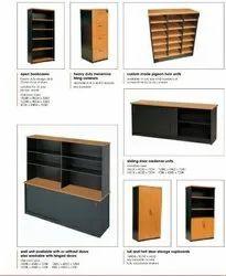 Wooden Office Storage Almirah