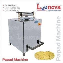 Semi Automatic LEENOVA PAPAD MACHINE