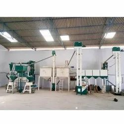15 Ton Industrial Flour Mill Machine