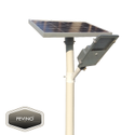 Integrated Solar Street Lighting System