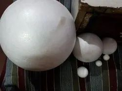 Thermocol Balls White Size 4,6,10 & 20 Cms Dia, Used in Solar DIY Projects, Art & Craft, Decorations