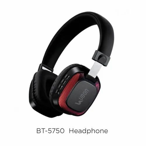 UBON BT-5750 Light Up Wireless Bluetooth Headphone, Weight : 299 G