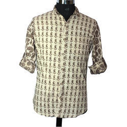 Gents Printed Fancy Shirt
