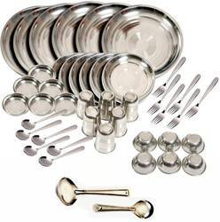44 Pcs Stainless Steel Dinner Set