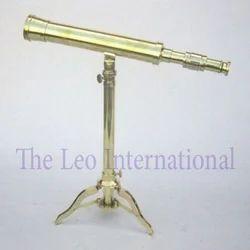Nautical Brass Telescope tripod stand