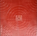 Chequered Tile -Quater Circle