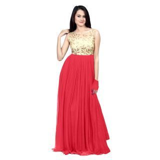 987b9a4981c7 On Stock Lot Party Wear Gowns Gowns, Size: Large, Rs 349 /piece | ID ...