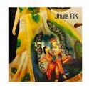 Ladies Printed Yellow Saree