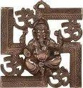Metal Swastic Ganesh