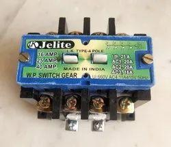 25 Amp 4 Pole Contactor