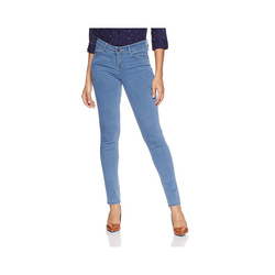 Blue Women's Causal Jeans, Waist Size: 40 and 42