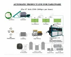 AUTOMATIC PRODUCT LINE FOR TABLEWARE