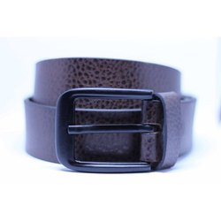 Cheetah Brown Leather Belt