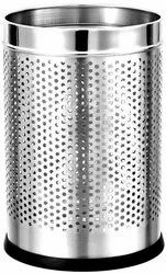 Stainless Steel Dustbin Perforated