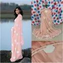 Georgette Sarees With Border
