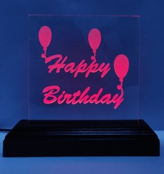 Birthday Glass Gift Item