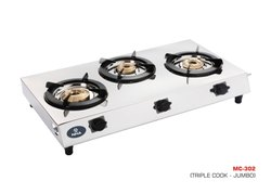 MC-302 Three Burner Gas Stove