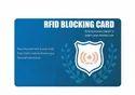 RFID NFC Blocker Card 13.56Mhz RFID Blocker Card for Wallet