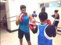Semi Crouch Boxing Coaching