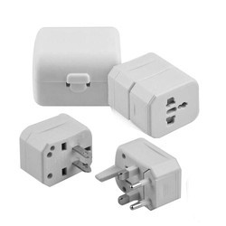 White Universal Travel Adapter