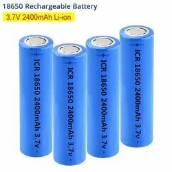 GEB ICR 18650 2400mAh 3.7 Volt Li-ion Rechargeable Battery