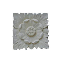 Marble White Panel Tiles, Shape: Round Square