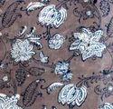 Floral Printed Batik Fabric