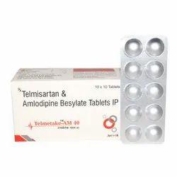 Telmisartan 40 Mg & Amlodipine 5 Mg Tab