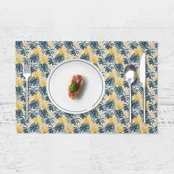 Cotton Anjaneya Autumn Theme Printed Placemats, for Table Linen, Capacity: 1 kg