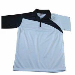 Men's Cotton Collar Neck Plain T-Shirt, Size: 36 to 42