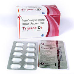 Trypsin Chymotripsin Tablet