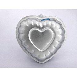 Decorated Heart Cake / Jelly Pans
