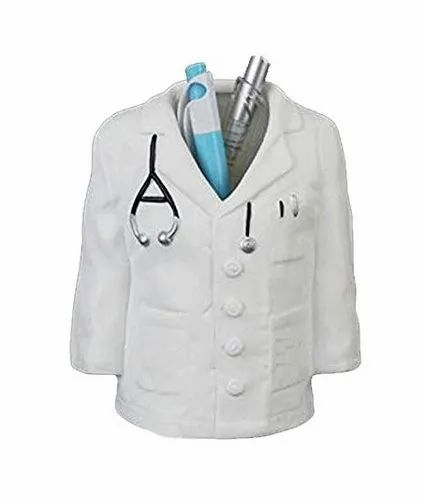Table Top Plastic Doctor Coat Pen Stand for Promotional Gift